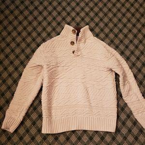 5/$10 Boys 8-10 Medium Cream Sweater Cat & Jack